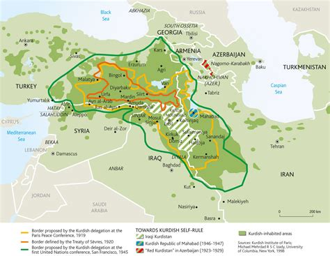 map of iraqi kurdistan 40 maps that explain the middle east