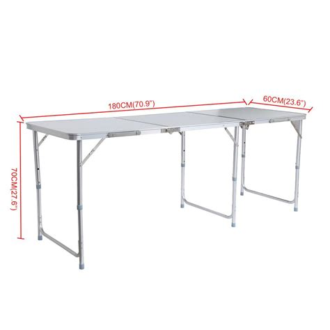 Folding Outdoor Hammock 180 X 100 Cm Diskon 2017 aluminum portable adjustable 180cm 6ft folding