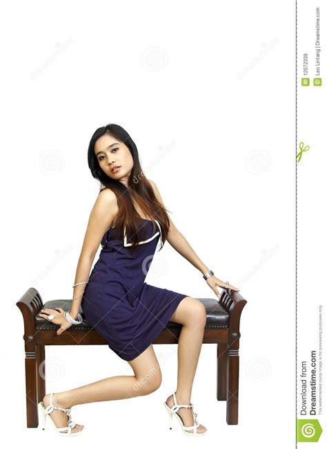 Model Sitting On Chair model sitting on chair royalty free stock images image 12072339