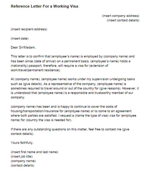 Visa Letter Of Recommendation How To Write A Business Visa Application Letter Mfacourses887 Web Fc2