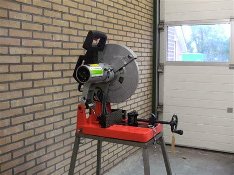 afkortzaag voor metaal en hout afkortzaagmachine metaal holzmann mks355 kin machines