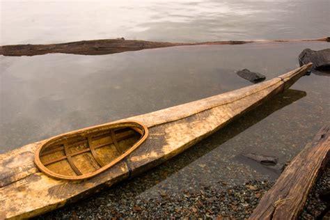 boat made of skins animating a hide on frame greenland kayak seawolf kayak