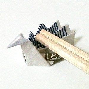 Chopstick Rest Origami - 78 images about chopstick rest on origami