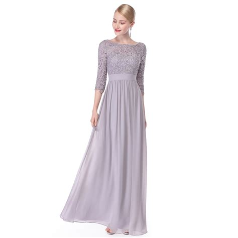 Sleeve Lace Evening Gown lace formal evening gowns half sleeve bridesmaid dresses