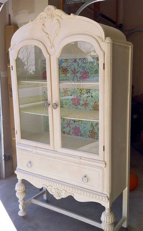 sideboards glamorous antique white buffet and hutch