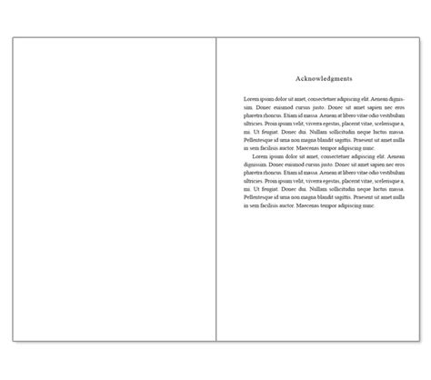 Microsoft Word Book Template Free by Book Templates For Microsoft Word