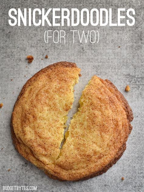 snickerdoodle signs snickerdoodles for two recipe salts cookies and