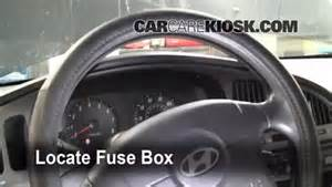 interior fuse box location 2001 2006 hyundai elantra
