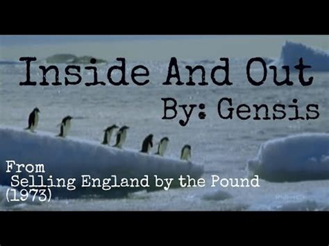 genesis inside and out inside and out by genesis phil collins gabriel