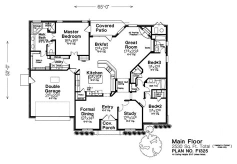 fillmore design floor plans f1325 fillmore chambers design group