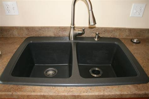 Black Granite Kitchen Sink by 1000 Ideas About Black Sink On Blue Pearl