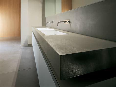 lavello in cemento prefinito cemento piano lavabo by moab 80