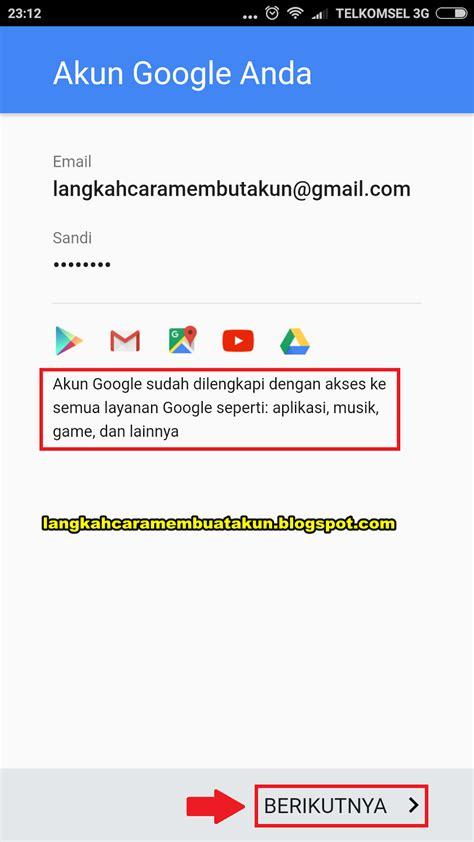 cara membuat gmail hp cara daftar email gmail baru di hp android 5 menit