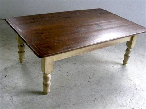 Country Style Coffee Tables Country Style Coffee Table With Multi Color Base Ecustomfinishes