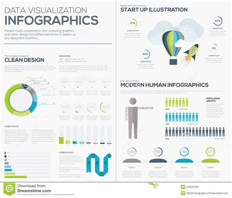 Business Startup Infographic Vector Illustration