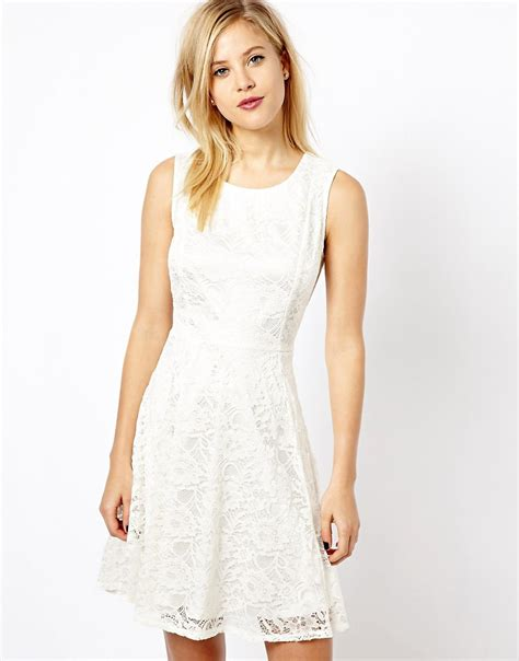 how would a wear a wear a wear lace skater dress at asos