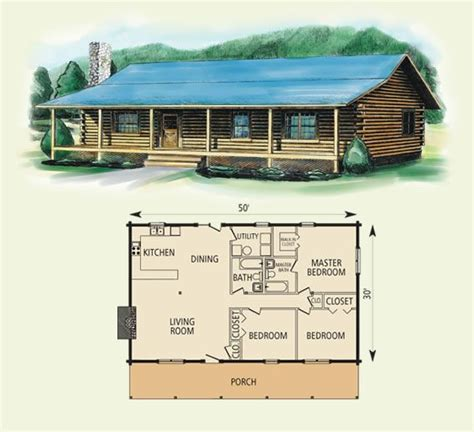 Simple Log Home Floor Plans | log cabin floor plans springfield log home and log cabin