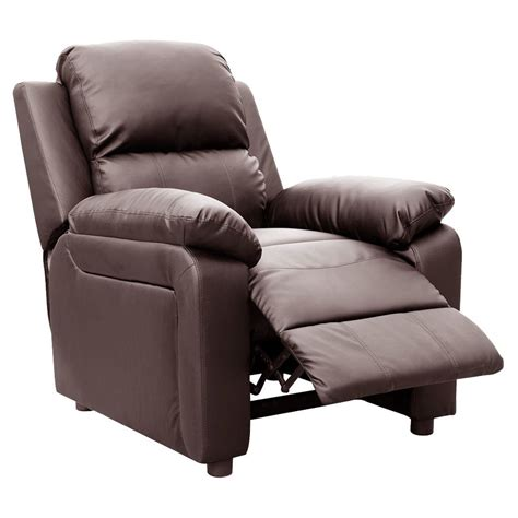 leather reclining armchairs ultimo leather recliner armchair sofa chair reclining cinemo home lounge ebay