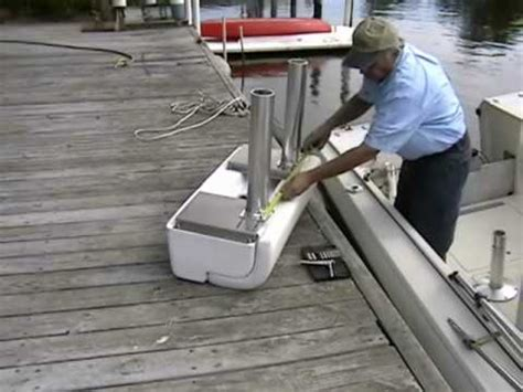 jon boat leaning post todd marine leaning post replaces old boat seats youtube