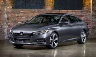 new 2018 honda accord adopts bolder style more tech and