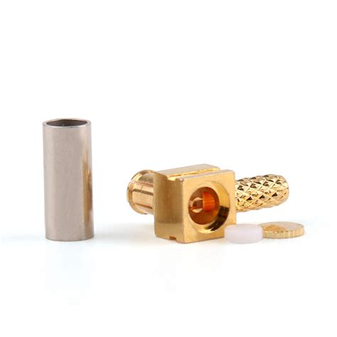 Sma Connector Right Angle 90 Rg174 Rg316 Lmr100 Model Crimping 1pc connector mcx 90 176 crimp rg174 rg316 lmr100