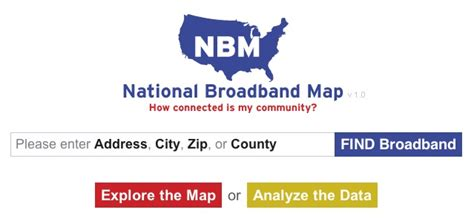 national broadband map national broadband map shows the fastest connection in your area