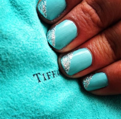 tiffany blue office on pinterest pedicure salon ideas tiffany blue nails bachelorette party nails see more at