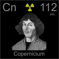 nicolaus copernicus a sle of the element copernicium