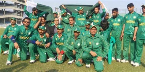world cup today pakistan breaks highest score record in blind t20 world