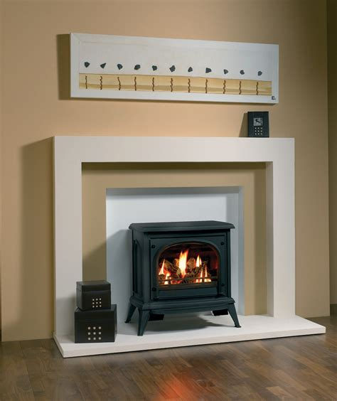 Gas Fireplace Stove by Ashdon Gas Stoves Clear Door Gazco Traditional Stoves