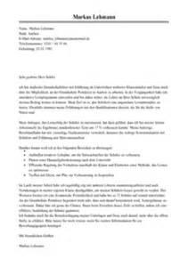 Anschreiben Initiativbewerbung Lehrer Anschreiben Lehrer Muster Bewerbungsschreiben Lehrerin Vorlage Livecareer