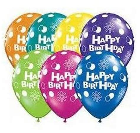 Balon Balon Motif Polkadot Transparan Souvenir Ultah Polkadot balon motif happy birthday 187 187 jual perlengkapan ulang