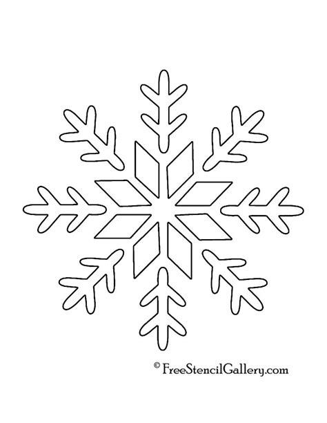 printable snowflake template printable snowflakes stencils snowflake stencil 09