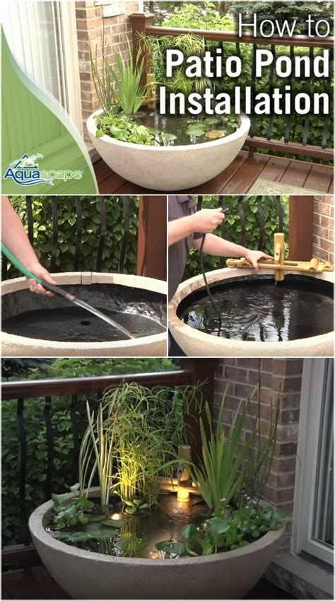 Patio Water Garden by How To Create A Patio Water Garden The Easy Way Diy Crafts