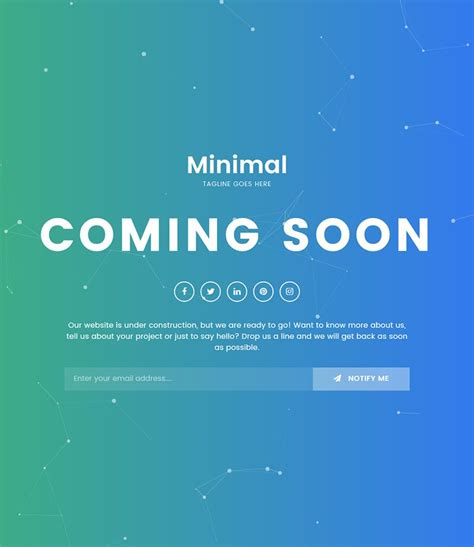 maintenance mode html template minimal ing soon maintenance mode html5 css3 bootstrap