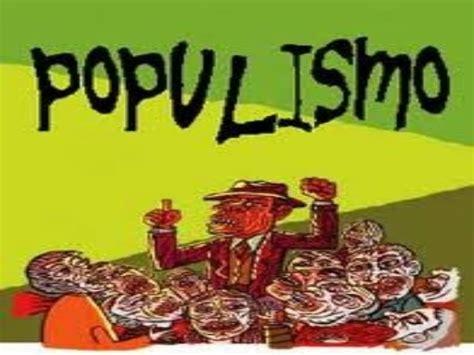 libro el estallido del populismo el populismo en america latina
