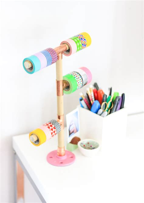 washi tape diy diy washi tape holder the crafted life