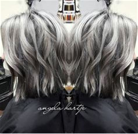 love the salt n pepper hair hairstyles pinterest lowlights and highlights to soften the transition to grey