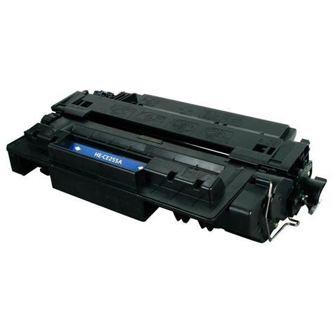 Toner Hp 55a Black tta hewlett packard ce255a hp 55a remanufactured replacement black laser toner