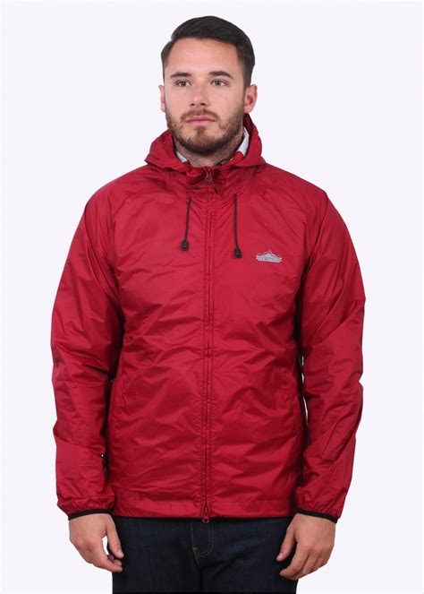 Penfield Travelshell Jacket Cordovan penfield travel shell jacket jackets from triads uk