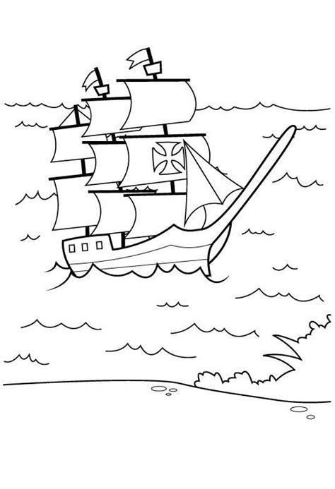 los barcos de cristobal colon para colorear carabelas de colon para colorear www pixshark