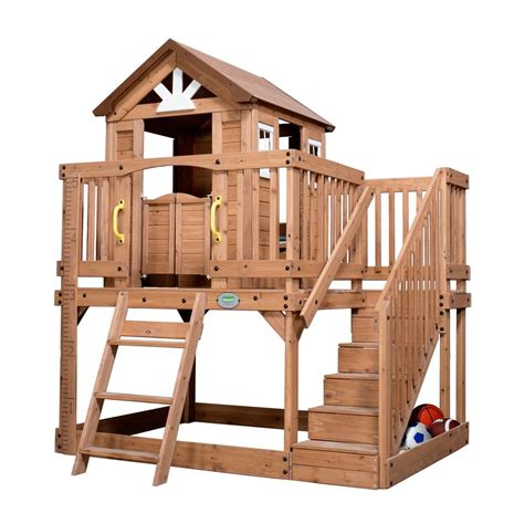backyard discovery scenic playhouse scenic heights wooden playhouse