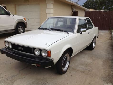 Toyota Cars 1980s Buy New 1980 Toyota Corolla 1 8 With Mazda Rotary Engine