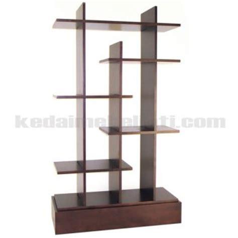 Dekorasi Pajangan Kayu Model Tv rak pajangan kayu jati model minimalis simple