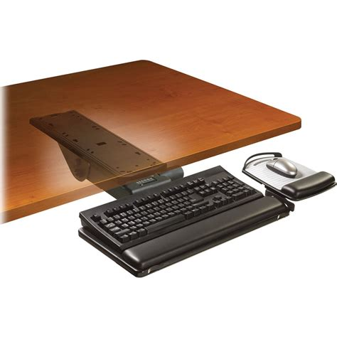 Keyboard Tray by 3m Akt151le Adjustable Keyboard Tray With Easy Adjust Akt151le