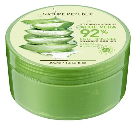 Nature Republic New Soothing Moisture Aloe Vera Gel nature republic new soothing moisture aloe vera 92 gel