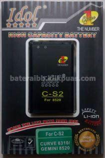 Baterai Power Merk Power Cs 2 baterai blackberry power batre power