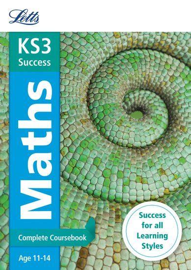 ks3 english complete coursebook letts ks3 success revision guide maths scholastic shop