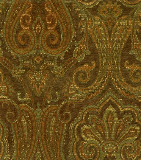 Waverly Upholstery Fabrics by Upholstery Fabric Waverly Clubroom Paisley Java Jo