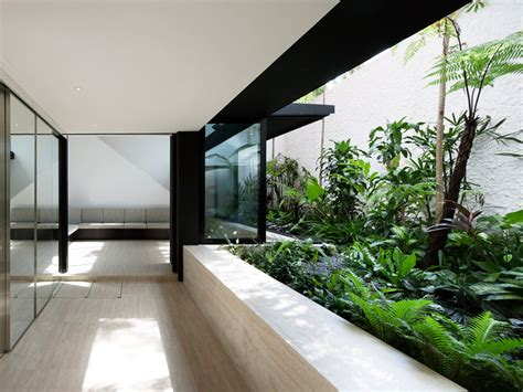 home interior garden formwerkz architects armadillo house